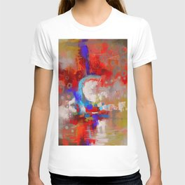 The world of C letter T-shirt
