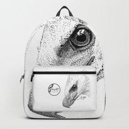 Harpy Eagle Stippling Backpack