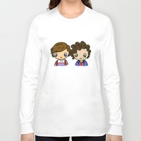larry stylinson Long Sleeve T-shirts featuring What Makes Larry Beautiful by clevernessofyou