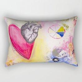 Proverbs 17:22 Rectangular Pillow