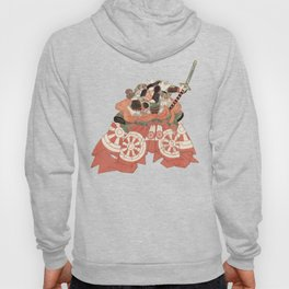 Warrior with Sword - Actor Portrait Vintage Japanese Art Hoody