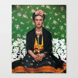 Frida Kahlo Photography I Canvas Print