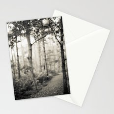 Place of Secrets [B&W] Stationery Cards
