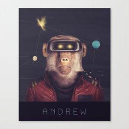Star Team - Andrew Canvas Print