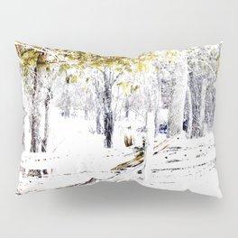Winter Fence Line | Landscape | Nadia Bonello | Canada Pillow Sham