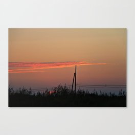 With my Wings comes Freedom Canvas Print