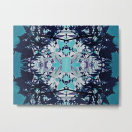 Blue Reef Metal Print