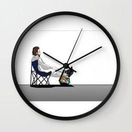 Formula 1 - Fernando Alonso deckchair Wall Clock