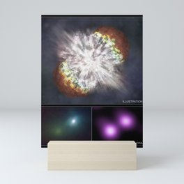 Supernova SN 2006gy (2007) Mini Art Print