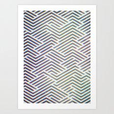 3D Labyrinth Art Print