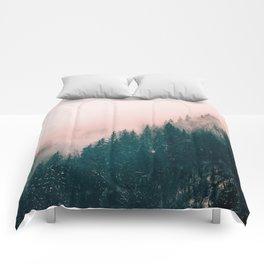 Pink Haze Comforters