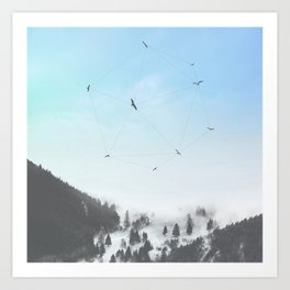 Fly Fly Away III Art Print