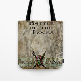 Battle of the locks bywhacky Tote Bag