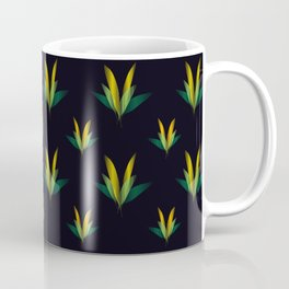 Linear flowers Coffee Mug