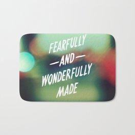 Fearfully and Wonderfully Made 2.0 Bath Mat