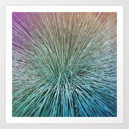 Iridescent Palms Art Print