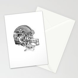 Football Helmet Stationery Cards