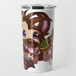Happy Hyena Travel Mug