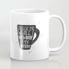 recharge awesome Coffee Mug