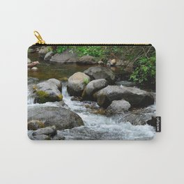 Creek in the woods Carry-All Pouch
