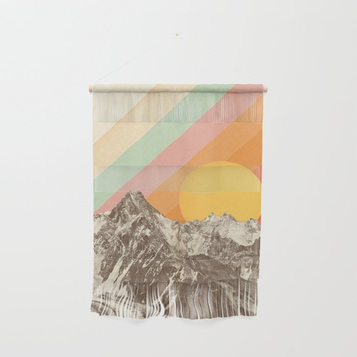 Mountainscape 1 Wall Hanging