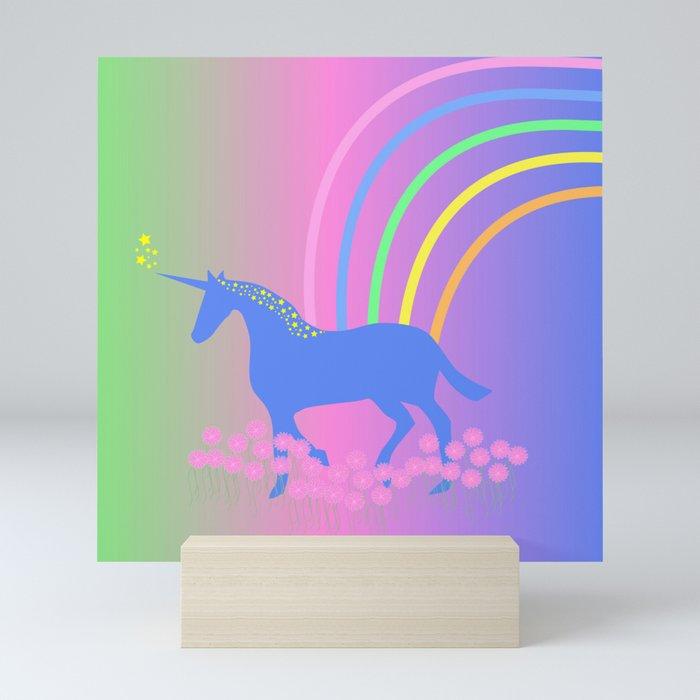 Unicorn Mini Art Print