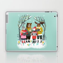 Woodland Christmas Carols by Andrea Lauren  Laptop & iPad Skin