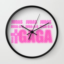 LADY GAGA's JUDAS Wall Clock