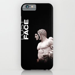 Lost Face iPhone Case