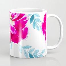 Fluorescent Florals #society6 #decor #buyart Mug