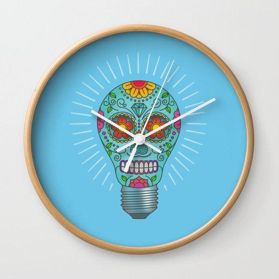 Light Headed Wall Clock