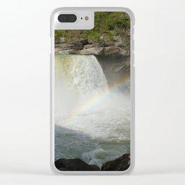 Cumberland Falls Clear iPhone Case
