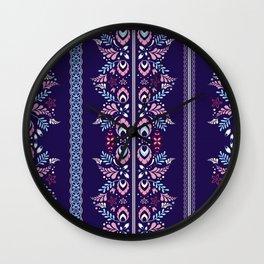 Batik Style 5 Wall Clock