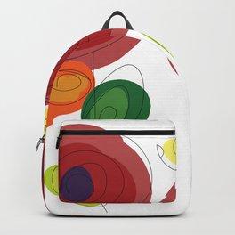 Flowers Art Backpack