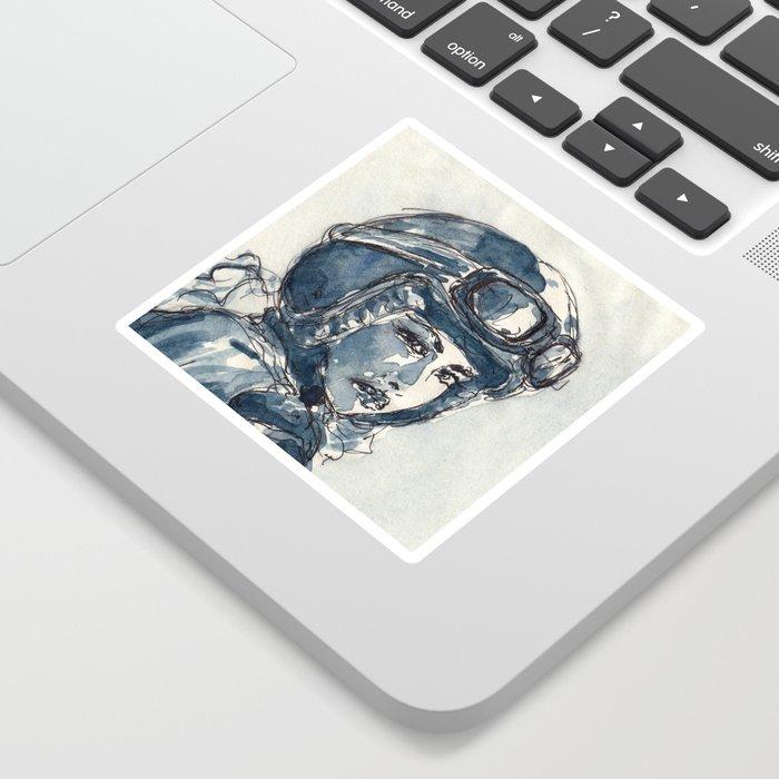 Lady Rider 170129 Sticker