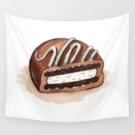 Chocolate Covered Cookie Wall Tapestry