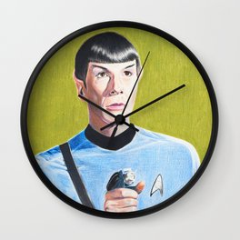 Spock Wall Clock