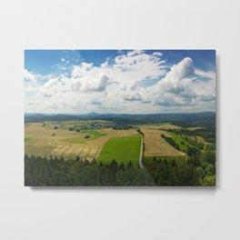 Bohemian Switzerland Metal Print