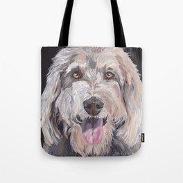 Golden Doodle Art,  Labradoodle art, Doodle dog art Tote Bag