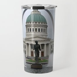 St. Louis arch Travel Mug