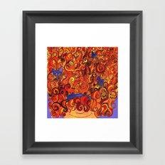 Gurly Cues Framed Art Print