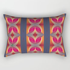 70's Geometric 1 Rectangular Pillow
