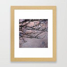 Dusky Winter Days Framed Art Print