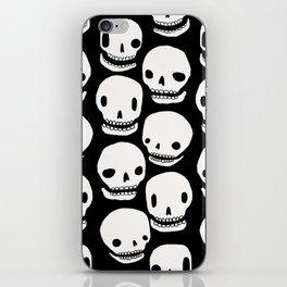 Skull Print iPhone Skin