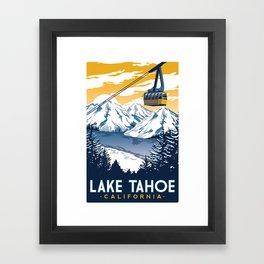 lake tahoe california Framed Art Print