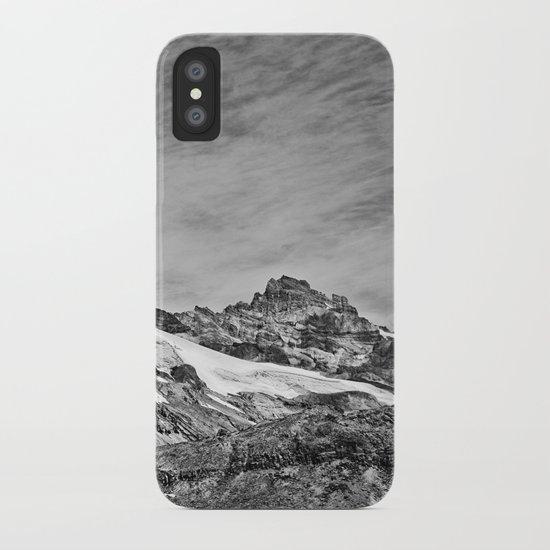 Rugged Mountain Hike iPhone Case