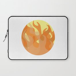 Pastel Flames Laptop Sleeve