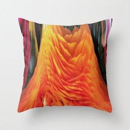 491 - Abstract Flower Design Throw Pillow