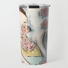Bones and Blooms I Travel Mug
