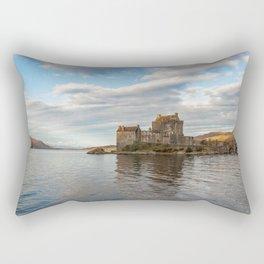 Eilean Donan Castle, Dornie, Kyle of Lochalsh, The Highlands, Scotland Rectangular Pillow